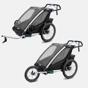 Vozíky pro 2 děti